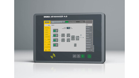 Sigma Air Manager 4.0 manöverenhet